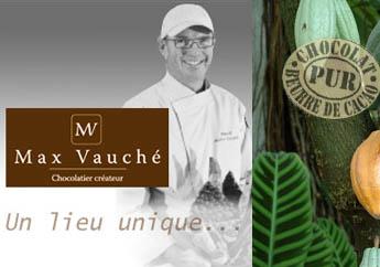 Max Vaucher - Chocolatier Créateur