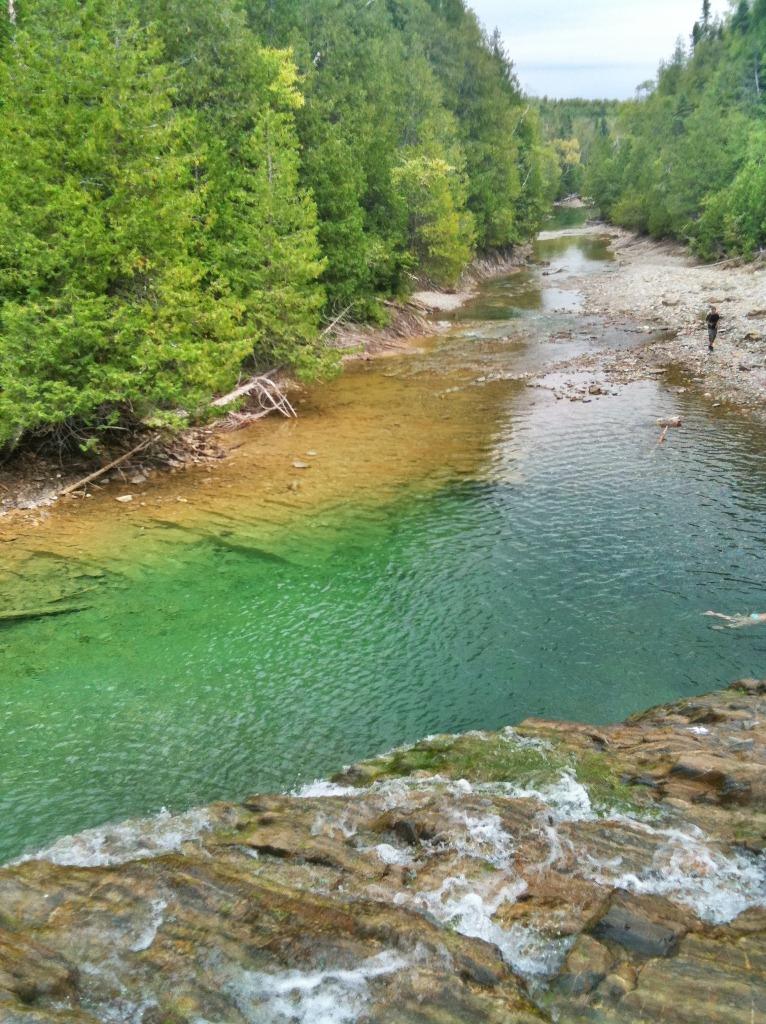 La rivière aux emeraudes, magnifique