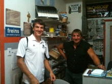 Mr Louis et Eric
