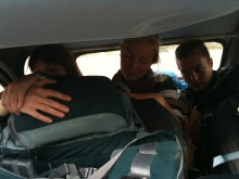 Embarquement avec des francaises, direction : Parc national de la Gaspésie