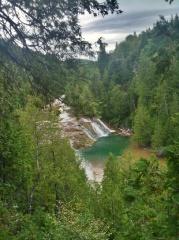La rivière aux emeraudes, magnifique et vivifiante, mais faiche !