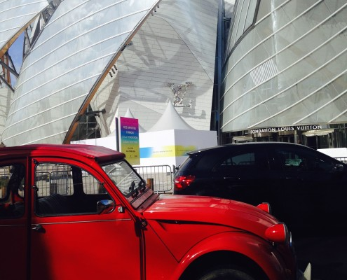 2cv fondation louis vuitton - Garage Pierre Arcueil