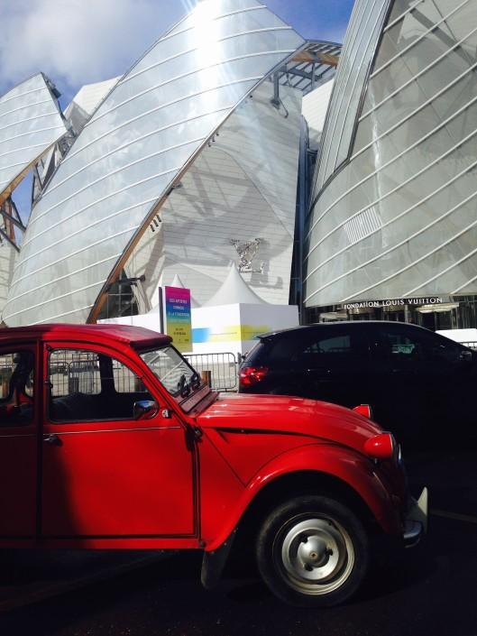 2cv fondation louis vuitton - Garage Pierre Arcueil