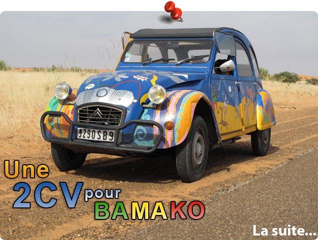 une 2cv pour bamako     l u0026 39 exp u00e9dition